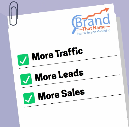 More Traffic More Leads More Saless