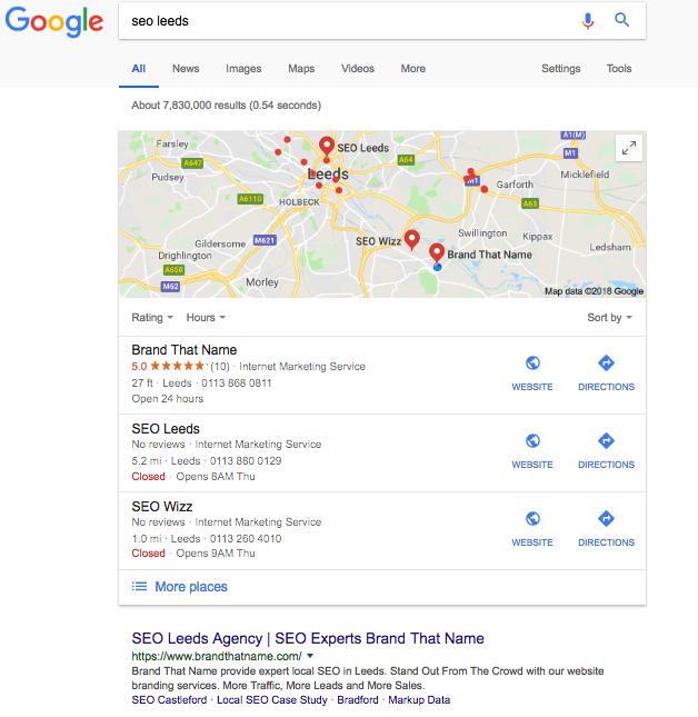 Brand That Name Agency rankings